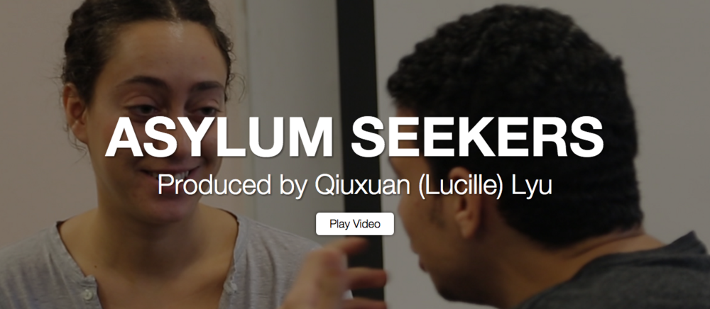 Struggling Help for Asylum Seekers 12/24/15       by Qiuxuan (Lucille) Lyu