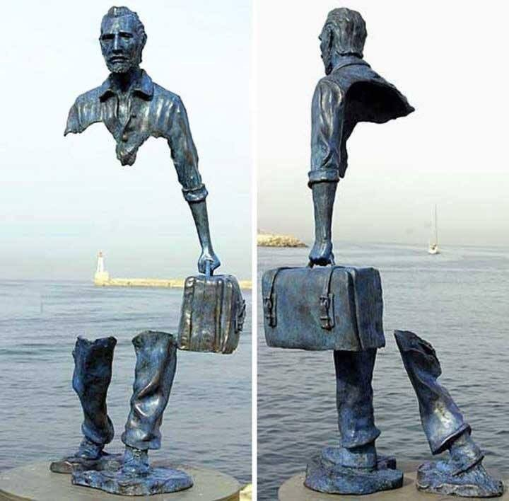 Frances Bruno Catalano's sculpture in Marseilles, France