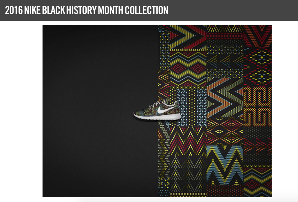 NIKE ID BLACK HISTORY MONTH COLLECTION