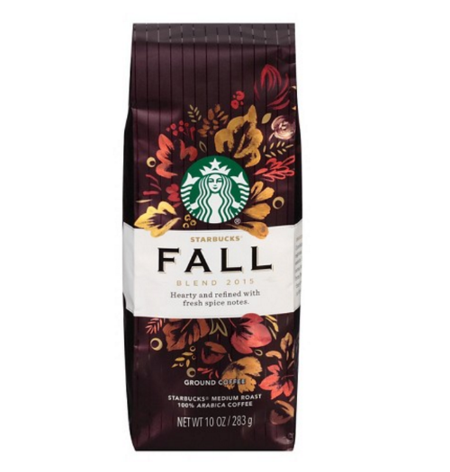STARBUCKS FALL BLEND 2015