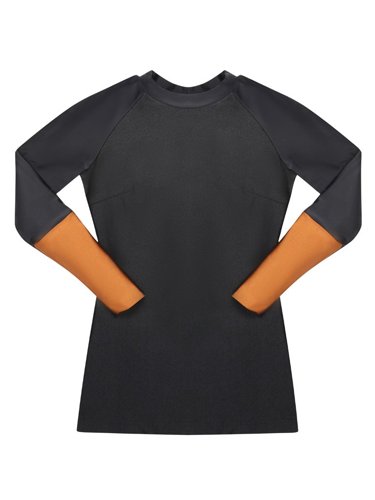 iaera surf  |The TANI Rash Guard in Silhouette |  $88.00