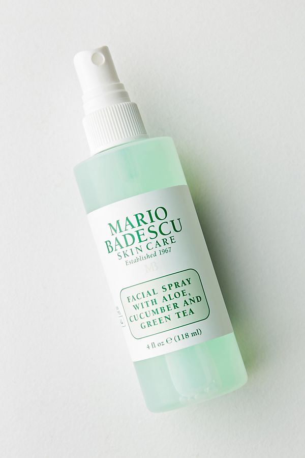 Mario Badescu  | Skin Care Facial Spray with Aloe,Cucumber And Green Tea |  $12.00