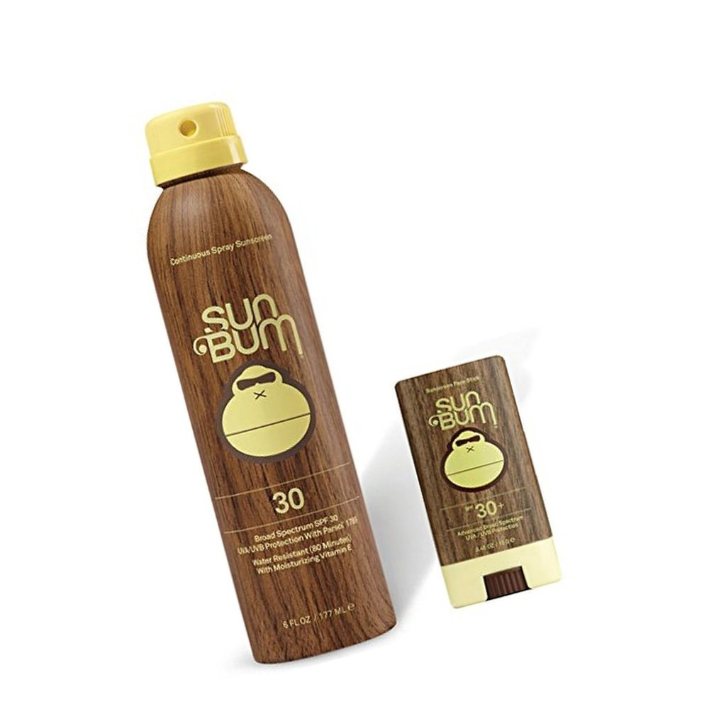Sun Bum  | SPF Spray Sunscreen + Face Stick SPF 30 |  $19.85