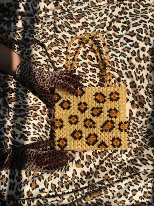 Susan Alexandra  | Leopard Bag | $325.00