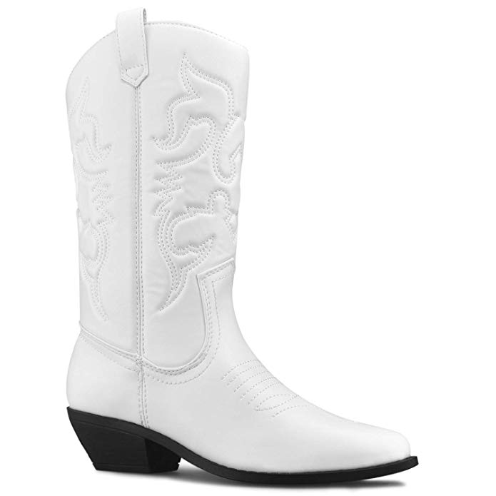 Premier Standard  — Western Cowboy Pointed Toe Knee High Pull On Tabs Boots —  $36.99