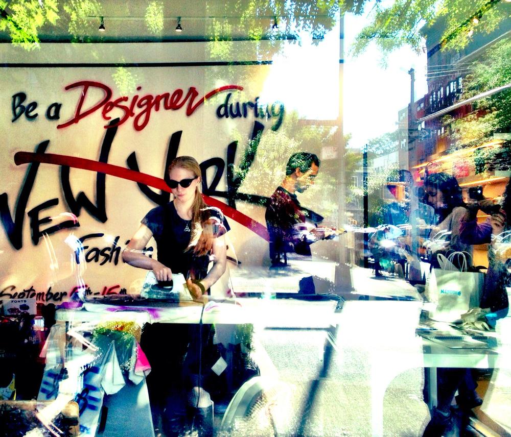 2013:  NY Fashion Week