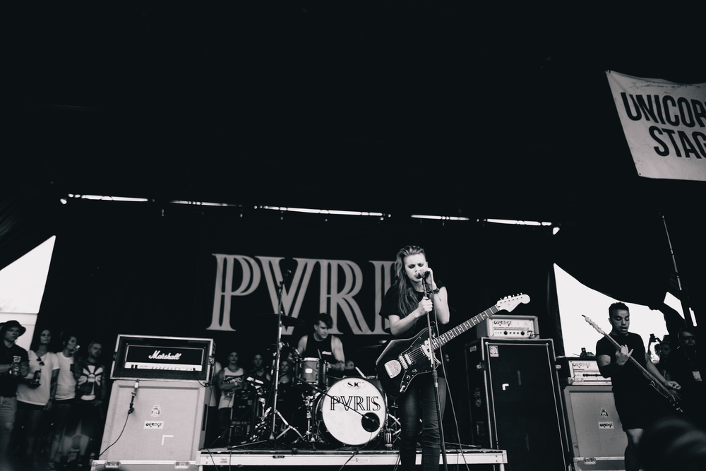 Pvris (Aside from the fact that Pvris photos aren't allowed to be posted in color, I will be trying to do more B&W in this part 2)