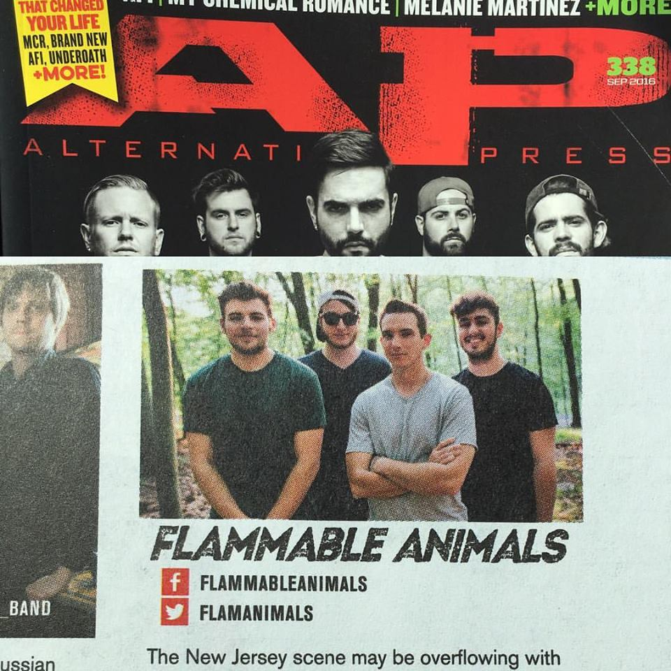 Flammable Animals AP