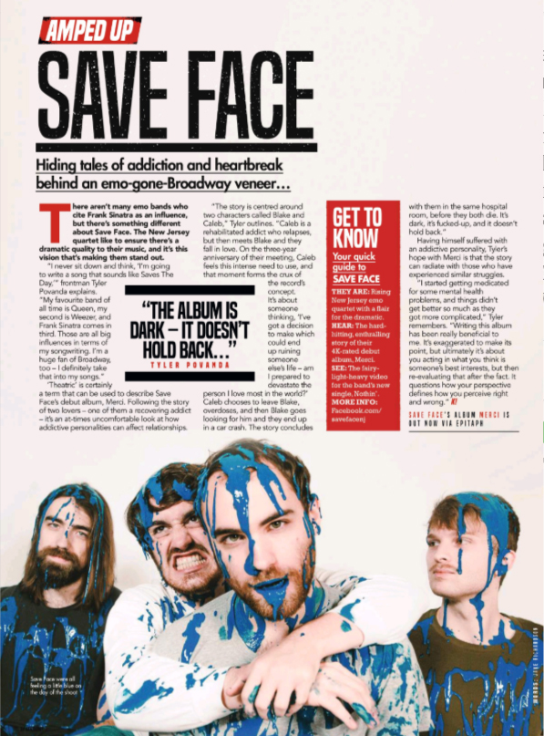 Save Face Kerrang