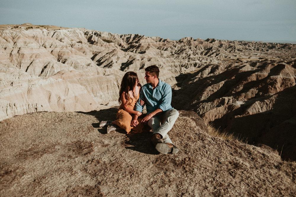 Couple Photography  Peyton + John Marc   Badlands, South Dakota-32.jpg