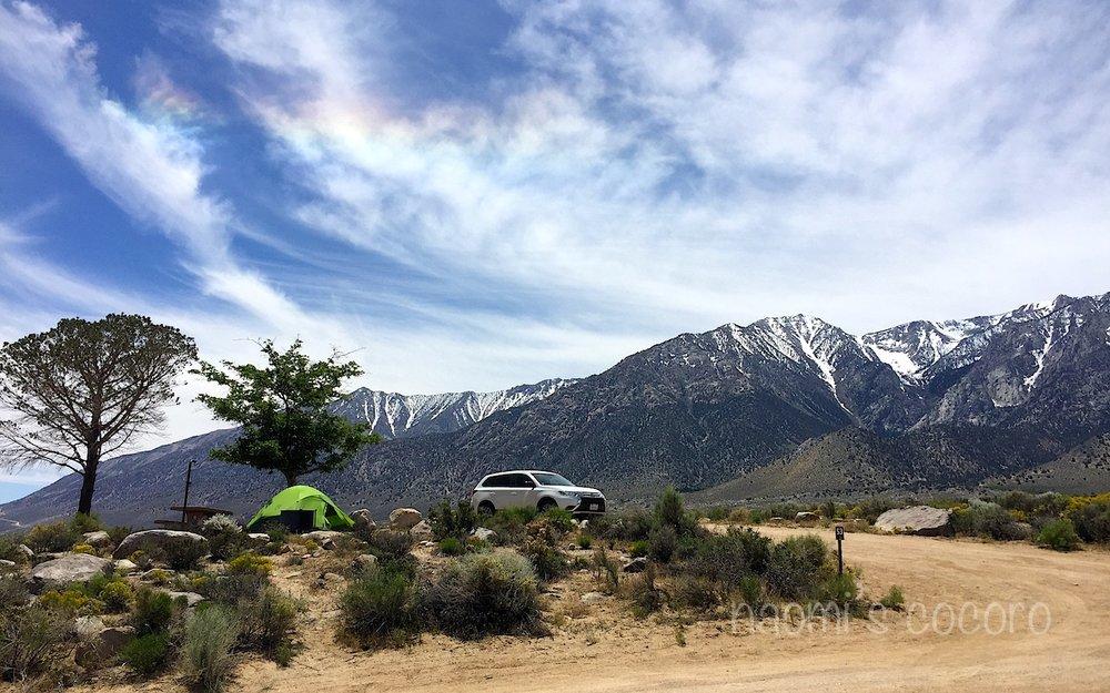 絶景のキャンプサイト!