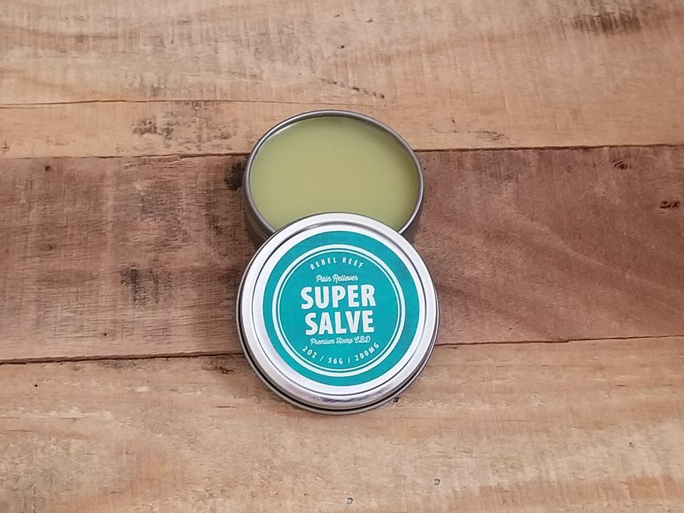 Super Salve - Combat your pain with a super-potent cool mint salve.