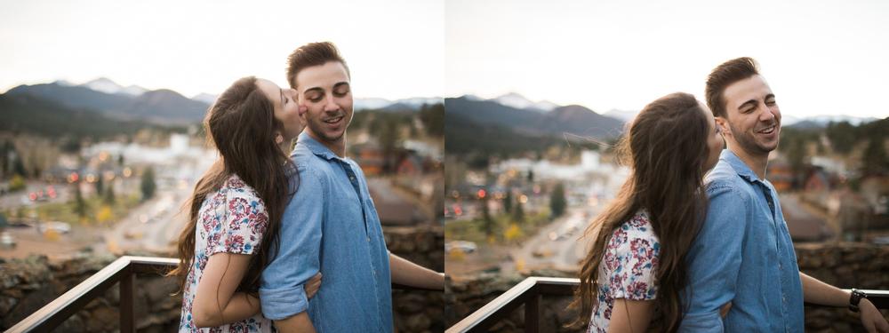 couples photography Estes Park
