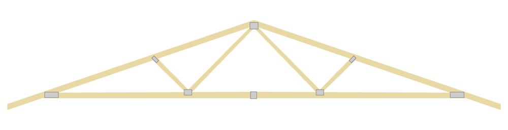 Spread Web Engineered Truss
