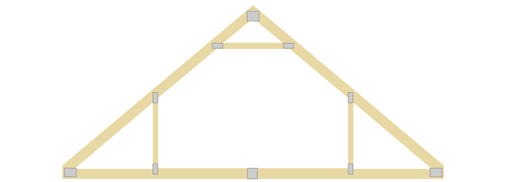 Room in Attic Engineered Truss