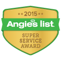 Angie's List Super Service Award Winner for 6 Years running from 2009 to 2015