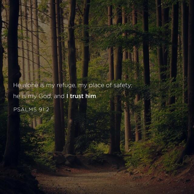 #trust #refuge