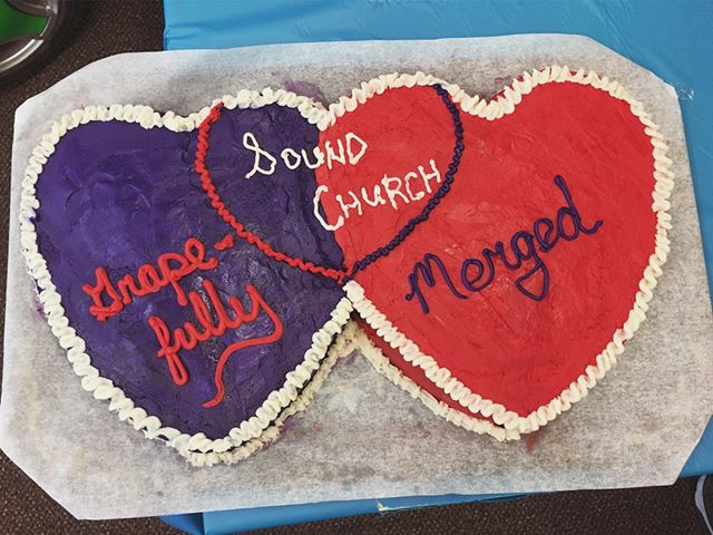 We are grateful to welcome the Grapevine Ecclesia family to ours as one united Sound Church family! Join us 10/21/18 at 6pm for our next preview service! #cakeart #baking #churchesmerged #unity Semal Kahn Kathy Jo Kahn KristinaBartels Sound Church