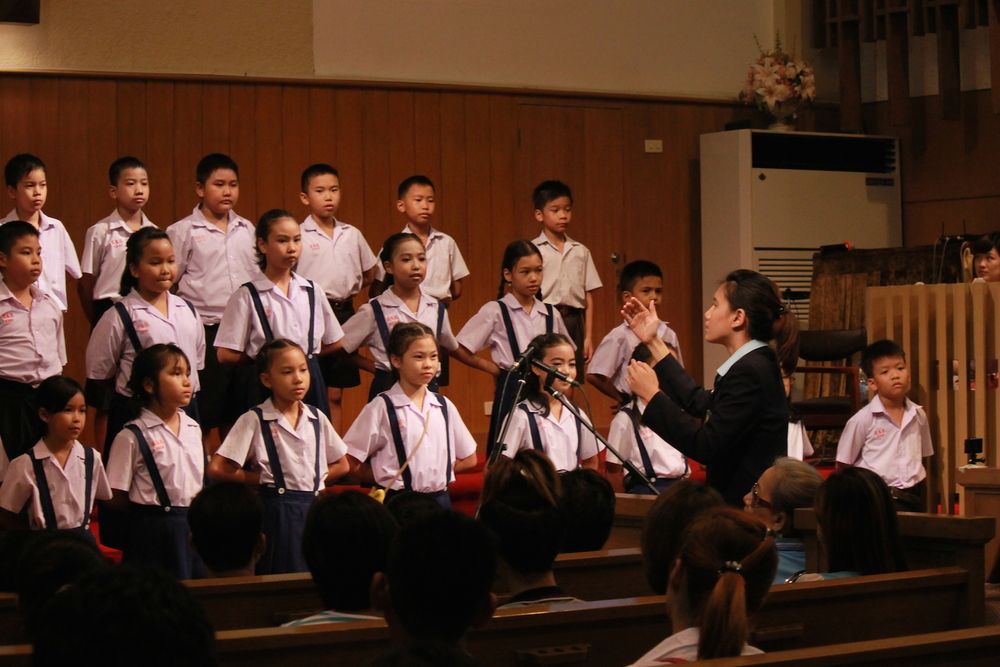 Sajja Grade 4 Choir performed on Mother's Day