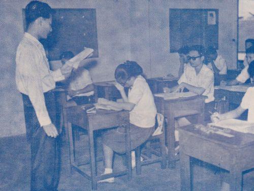 ห้องเรียนสมัยแรกๆ
