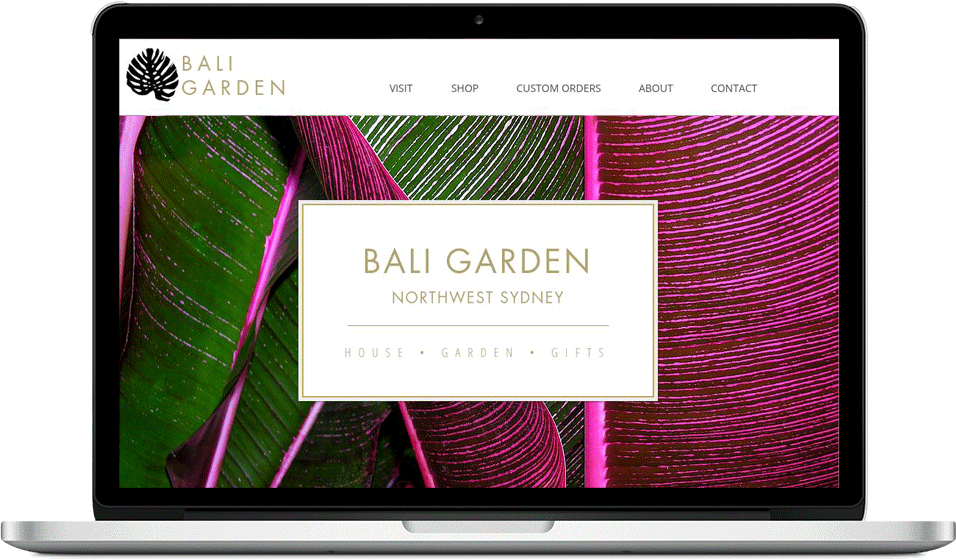 Bali Garden -  Website Design, Copywriting, SEO, PPC