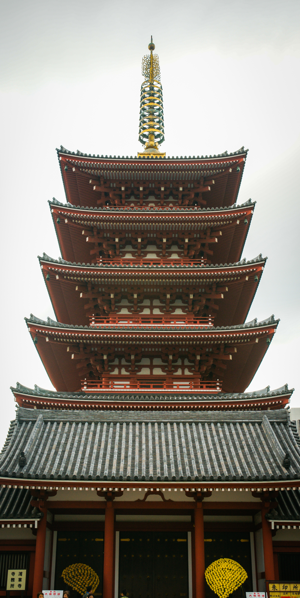 Pagoda at Senso-ji