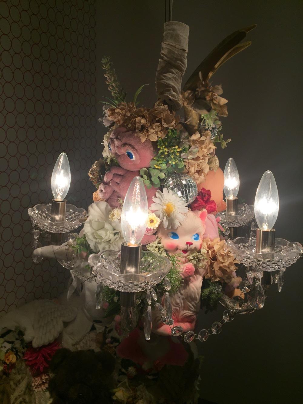 E.T. chandelier