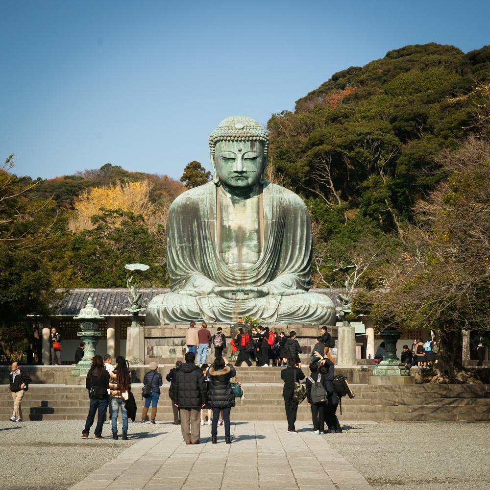 the Great Buddha, Daibutsu