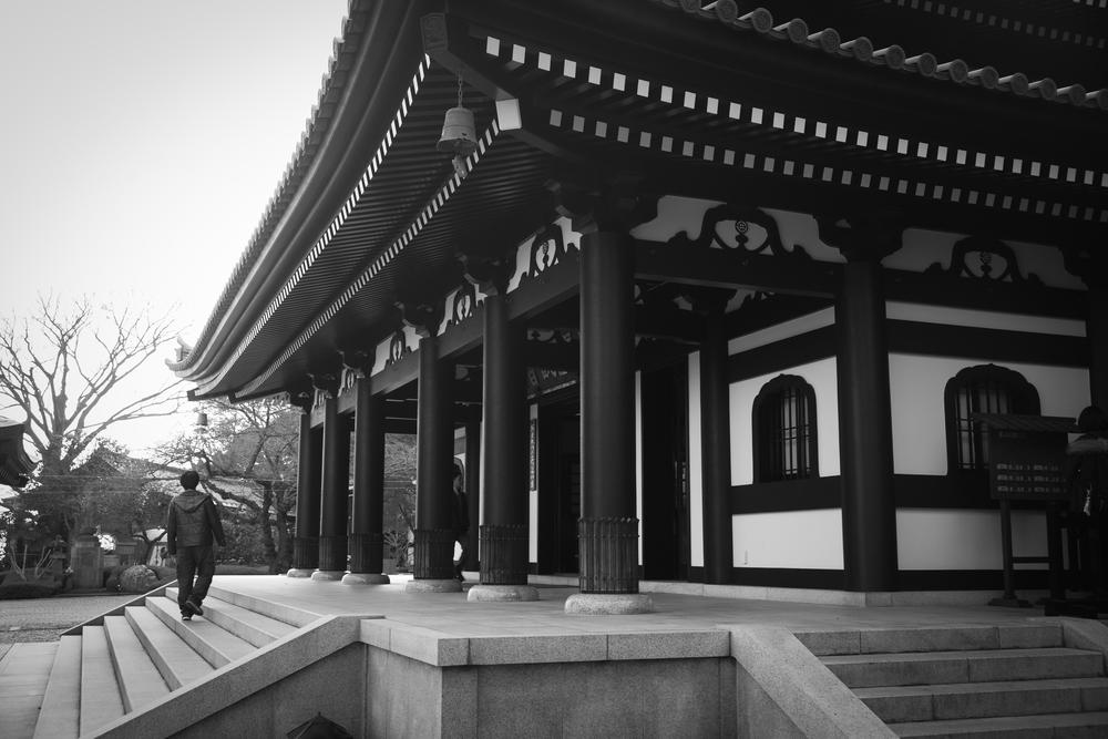 Kannon-do, main hall