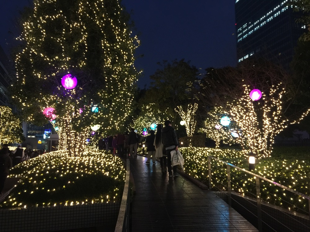some illumination in Shinjuku