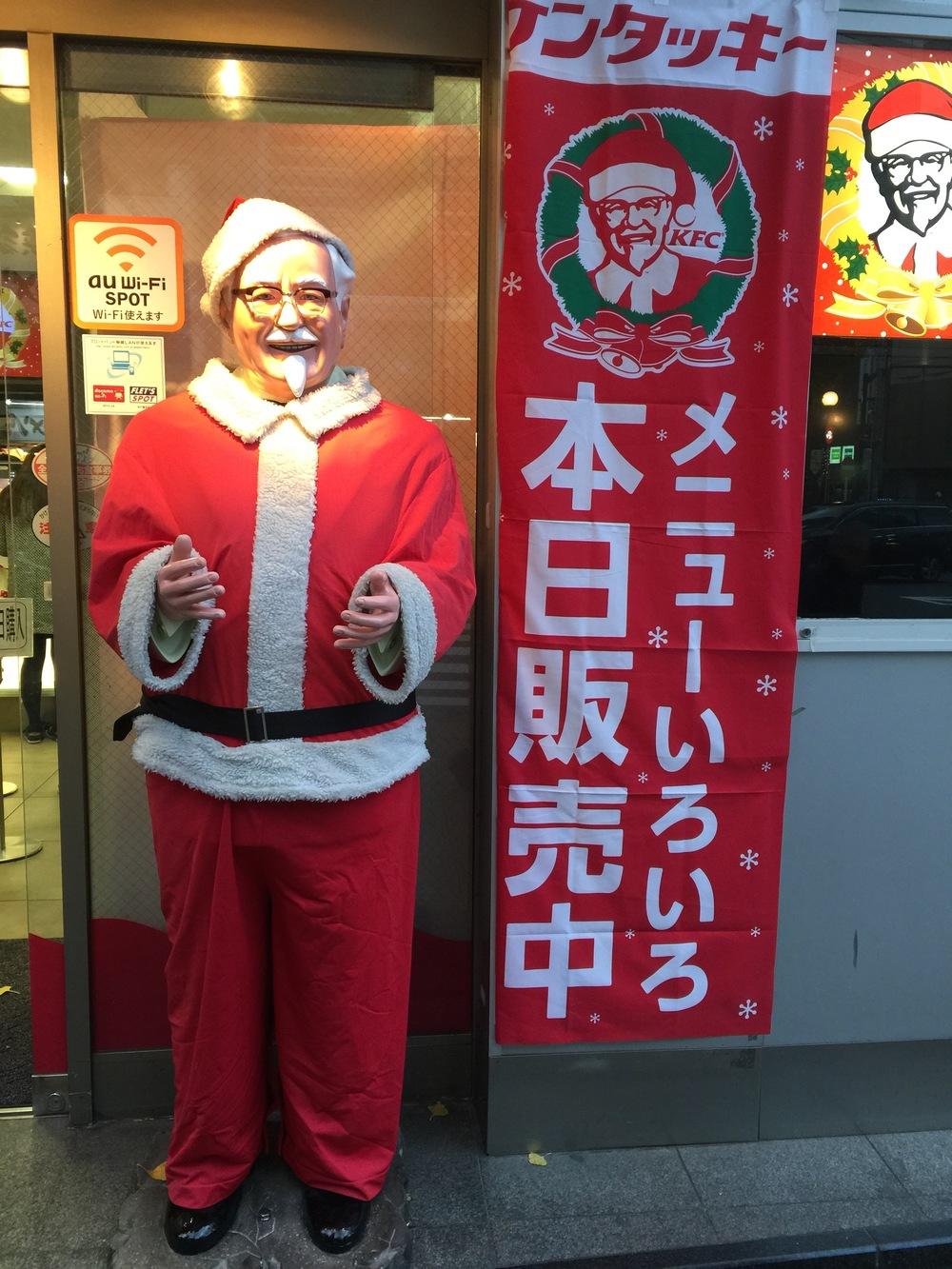 Santa! I mean Col. Sanders.