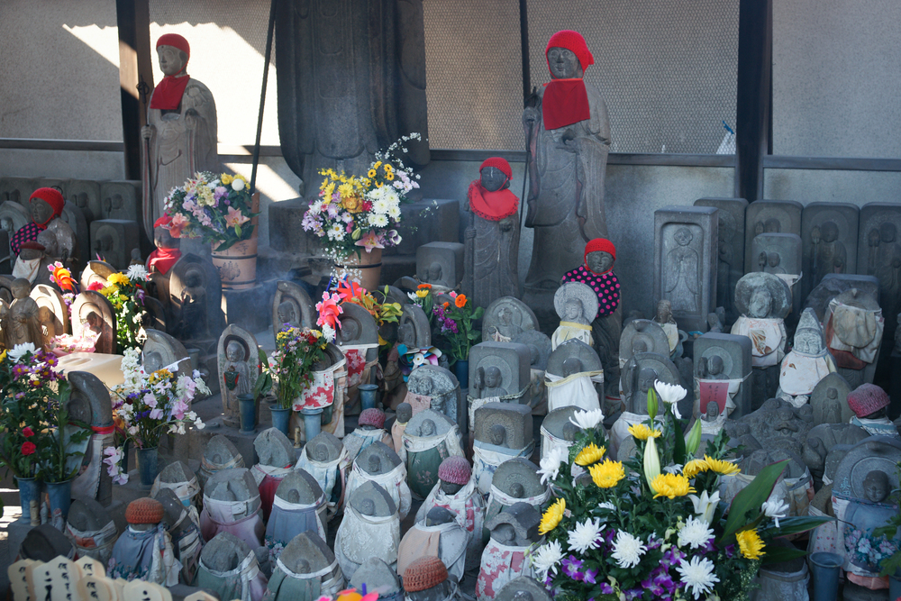 Jizo, statues for children who passed away
