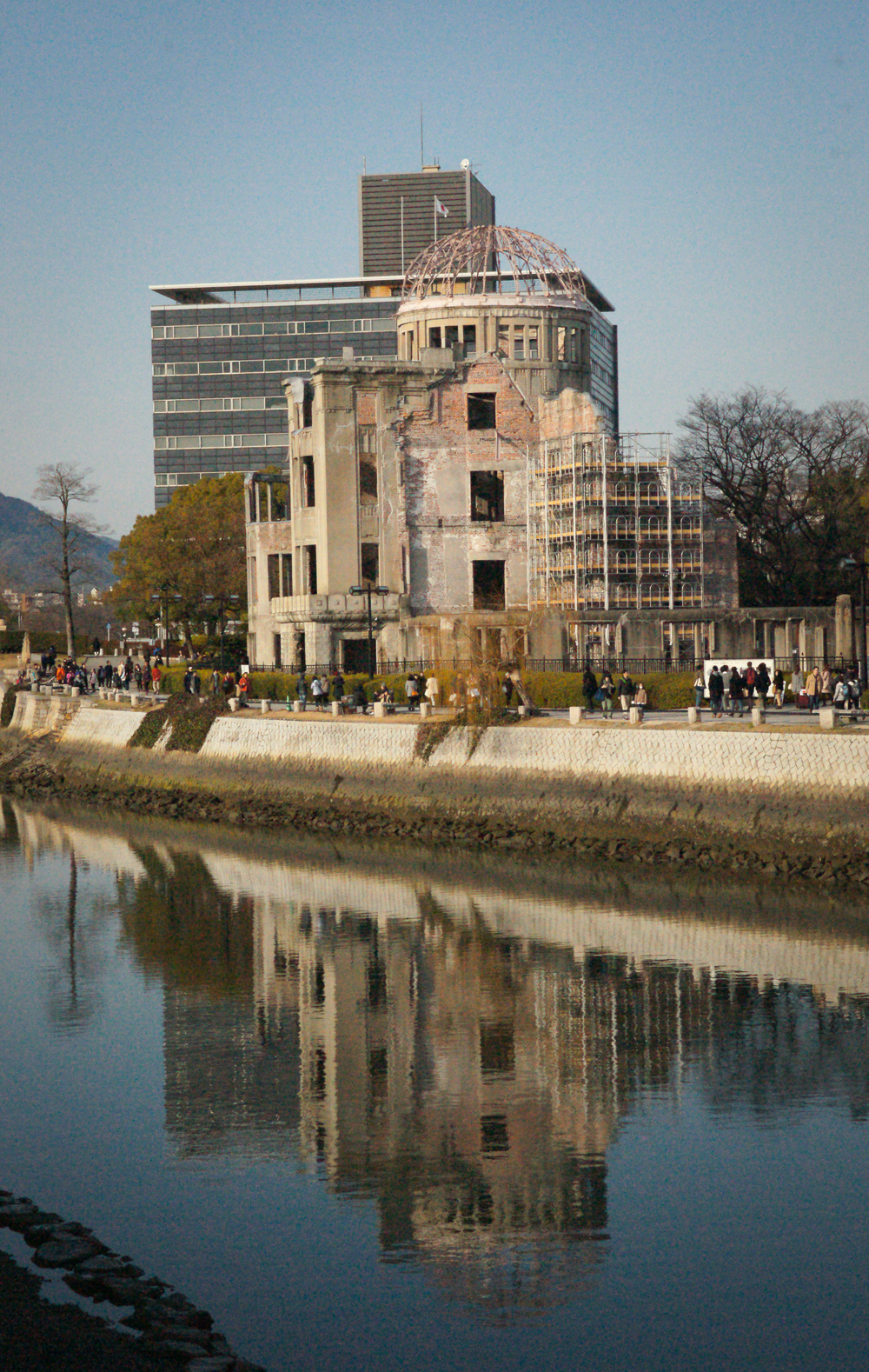 Atomic Dome from across the Motoyasu River