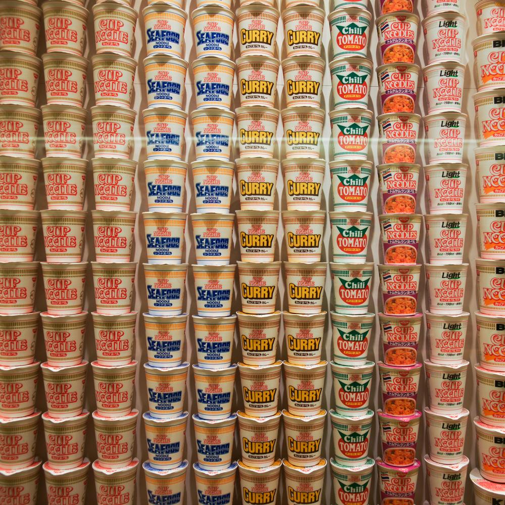 Cup Noodle flavors