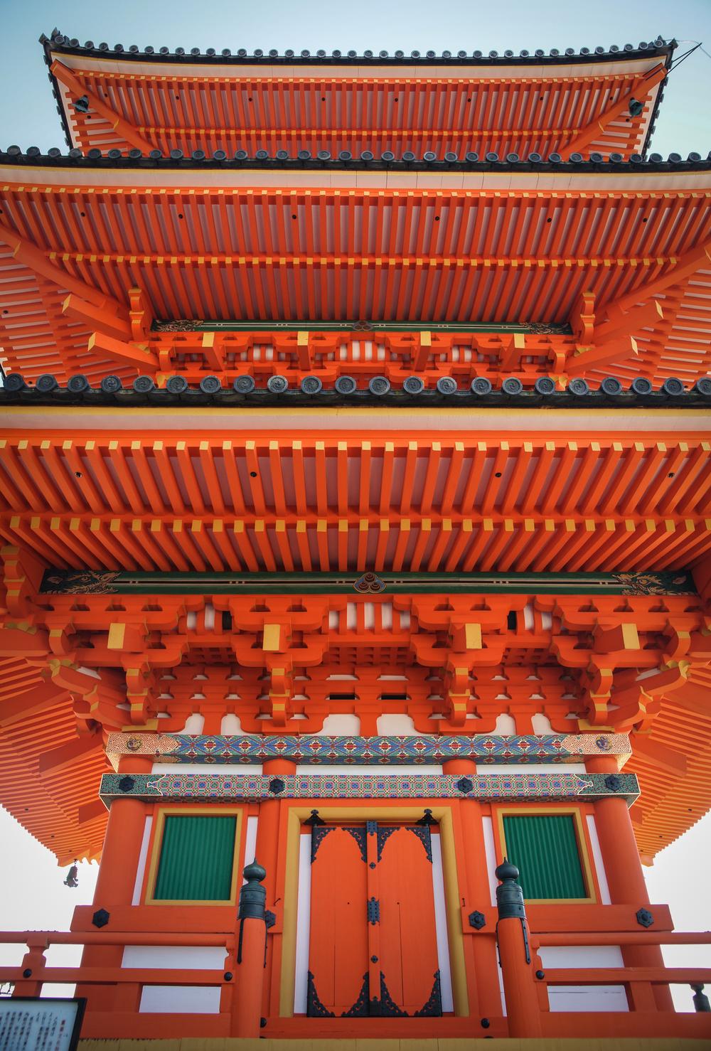 the 3-story Pagoda