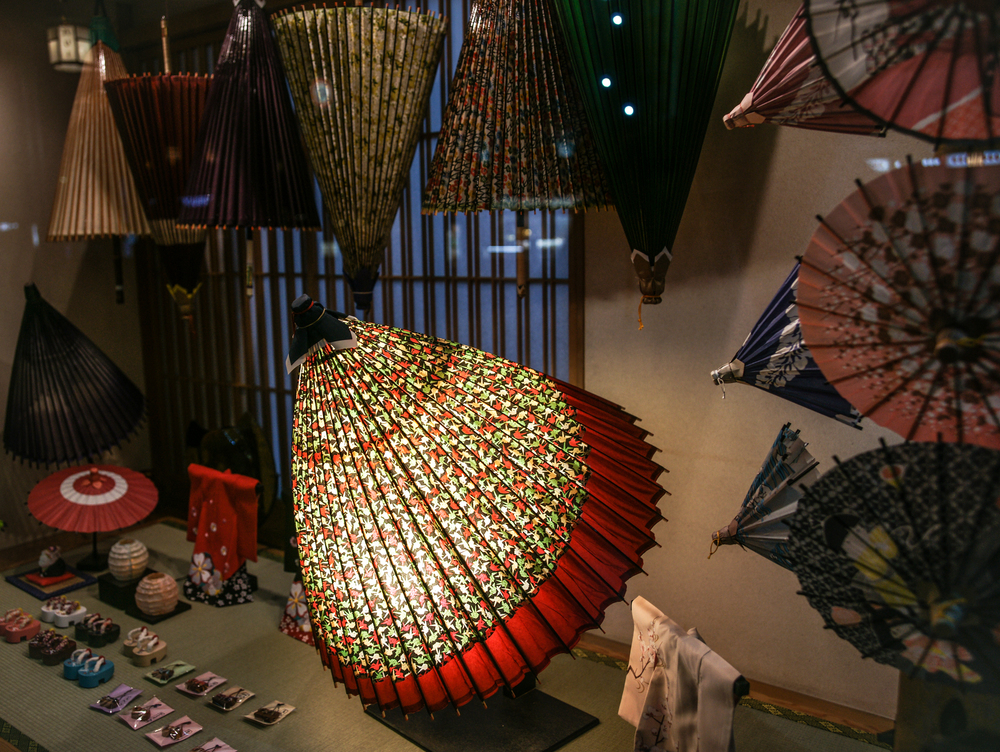 Umbrella Shop Window