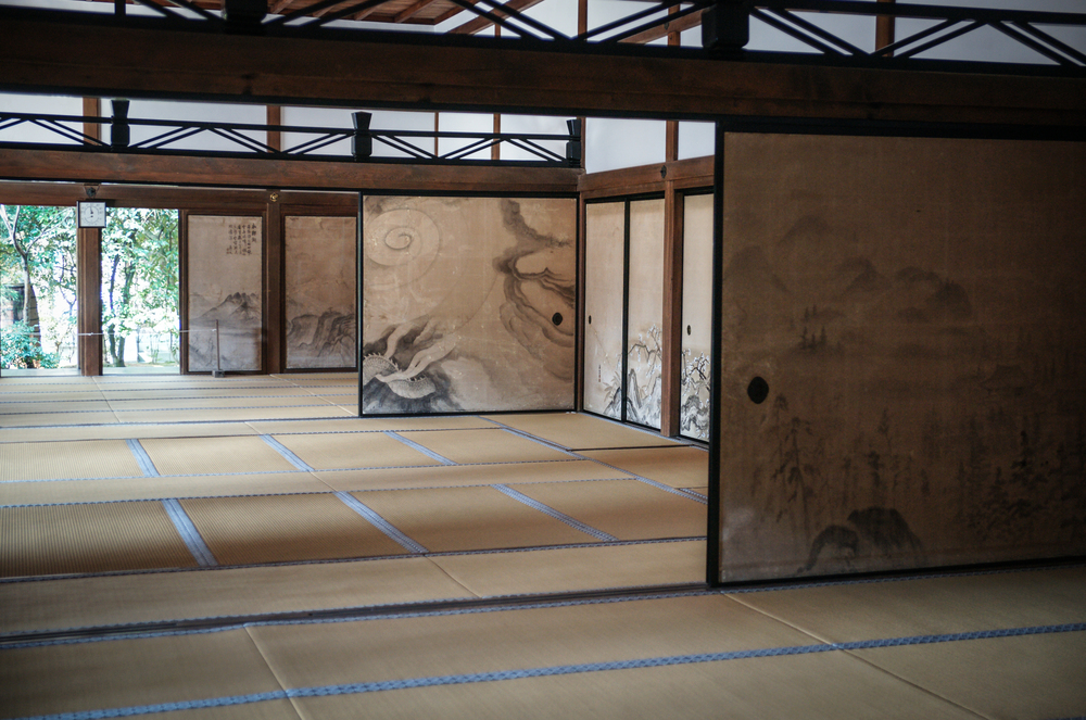 Tatami rooms in Ryoanji Temple