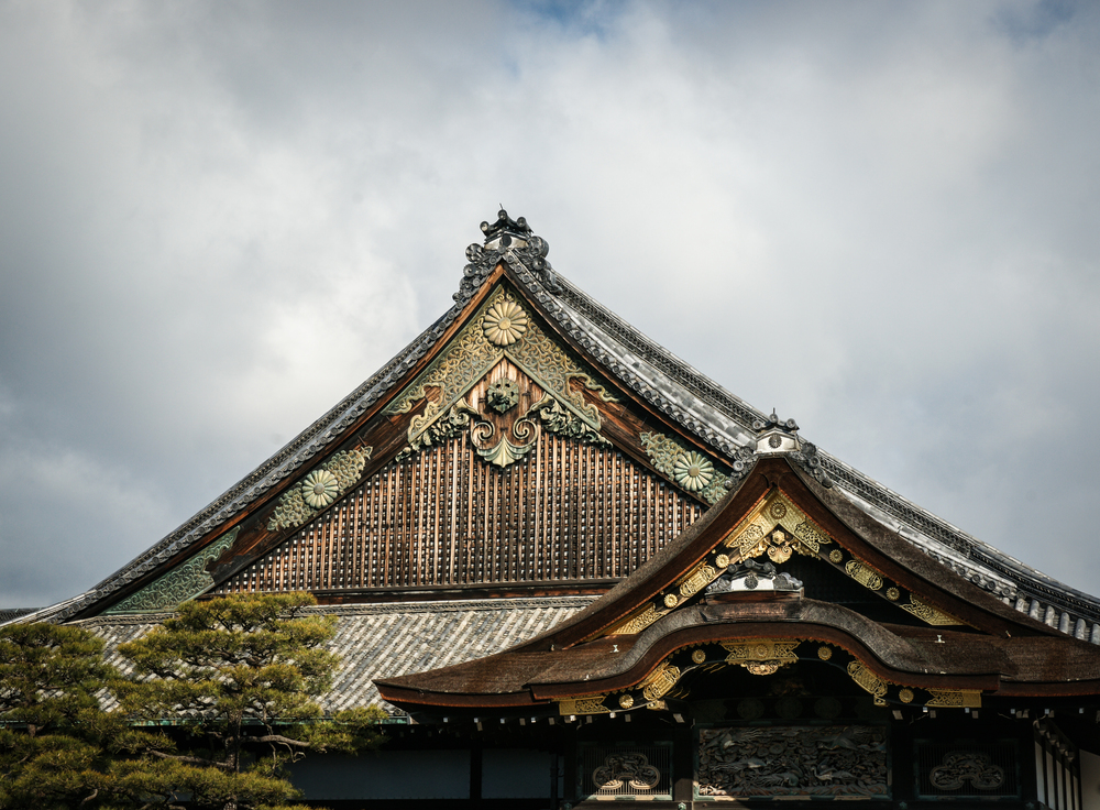 Roof line of Ninomaru Palace