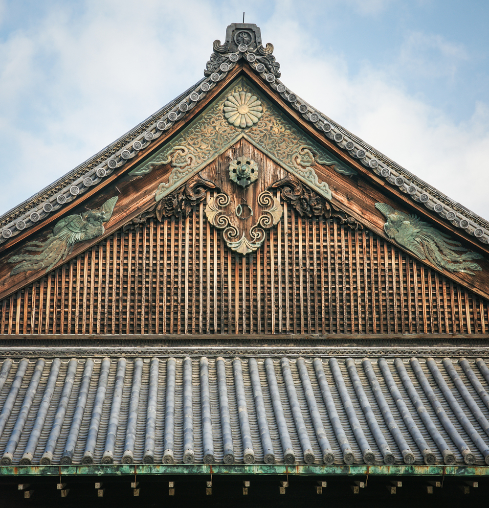 Detail of Palace roof