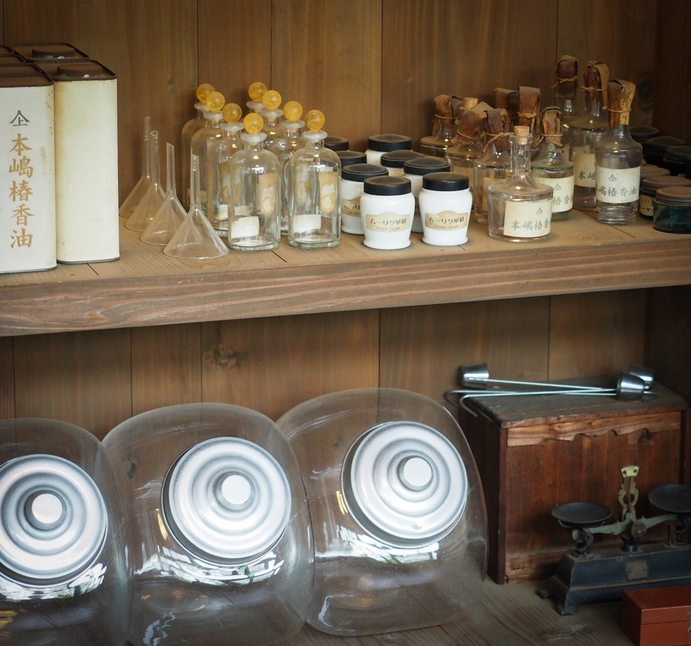 items inside the Cosmetic Manufacture shop