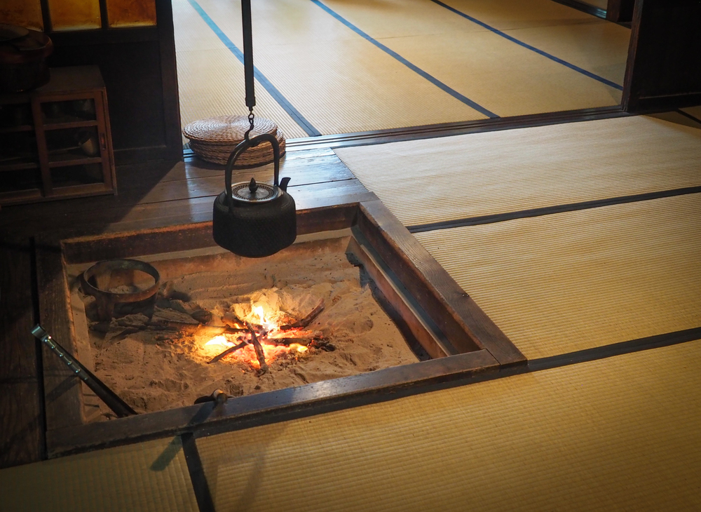 Irori, Japanese Hearth