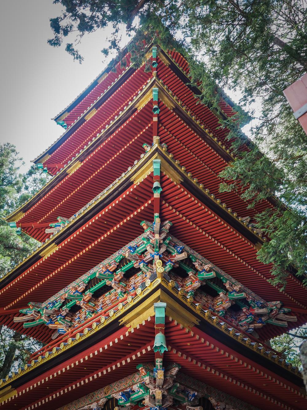 5 Story Pagoda at Nikko Tosho-gu