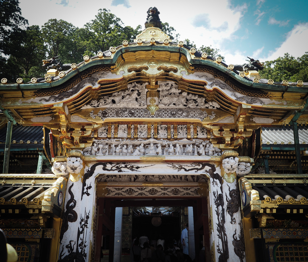 Karamon Gate, a national treasure