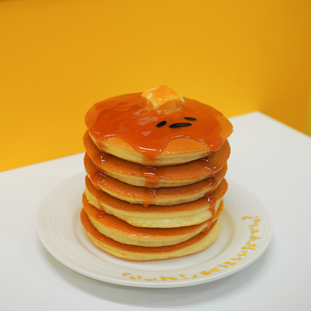 and in a tall stack of pancakes!