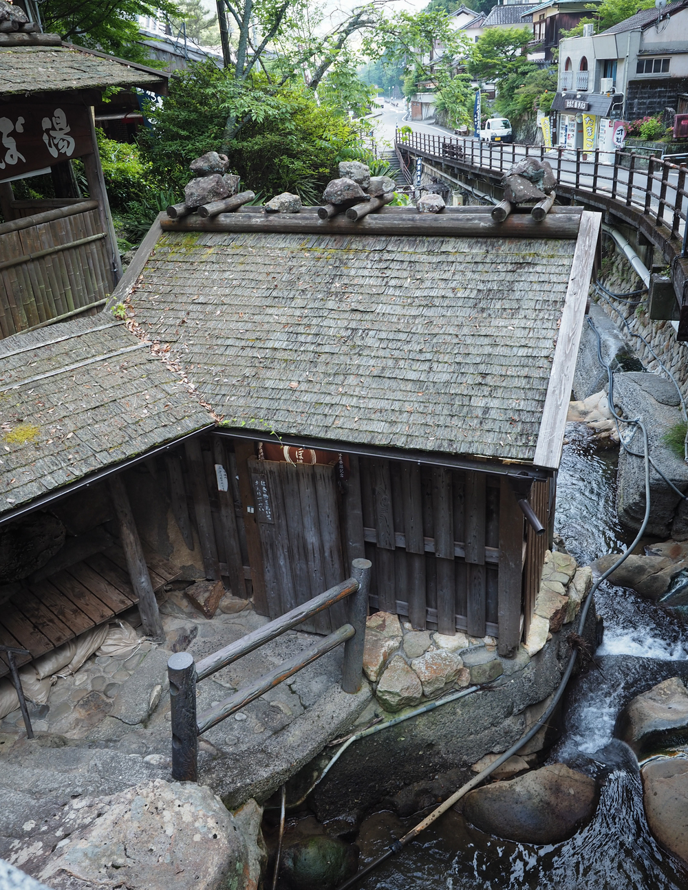 Tsuyobu, the small World Heritage Onsen