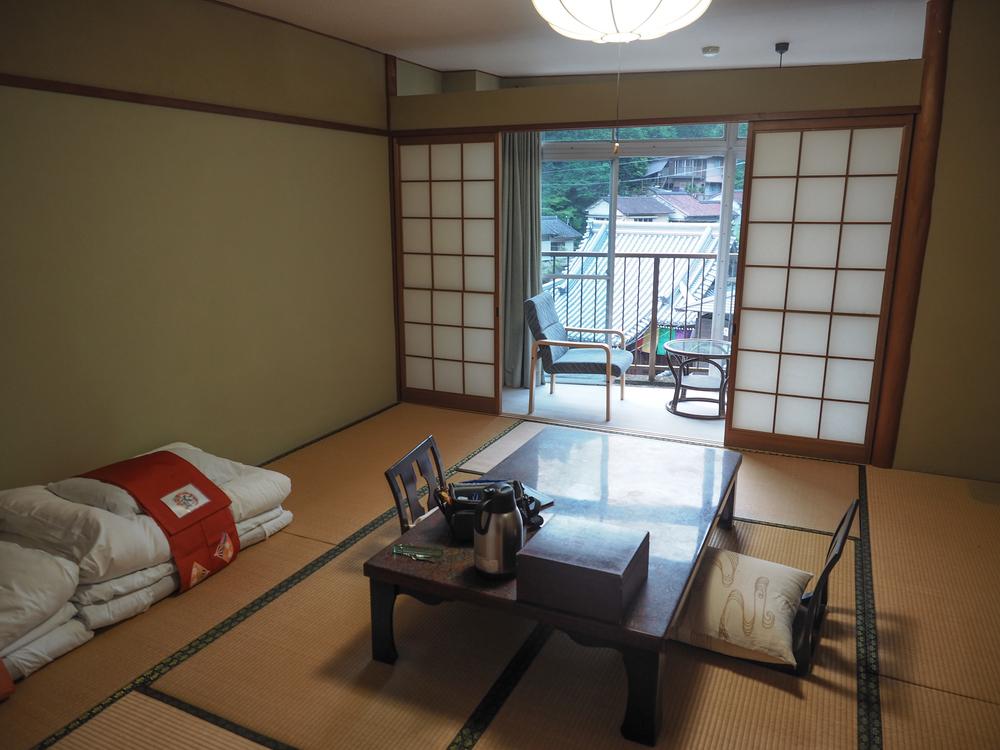 Ryokan room in Yunomine Onsen