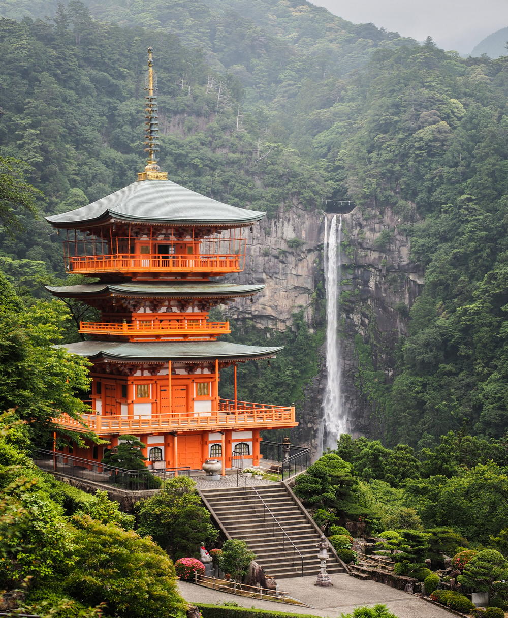 Sanjudo Pagoda and Nachi Falls