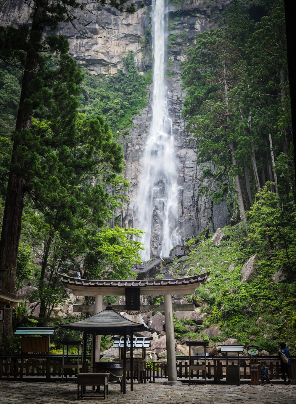 Nachi Falls, the tallest waterfall in Japan