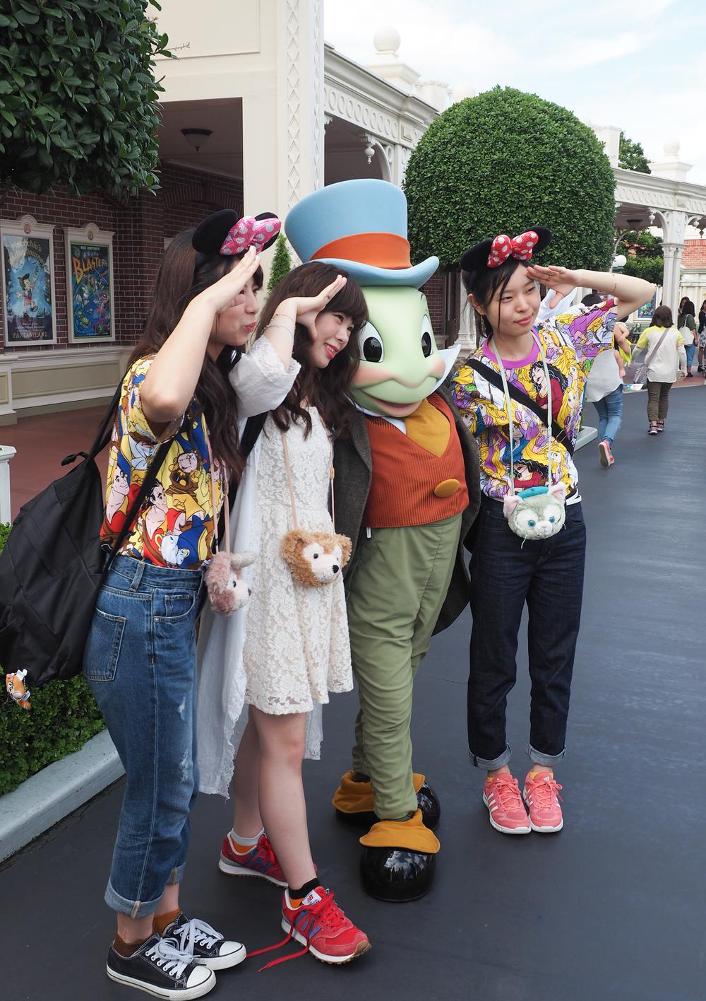 So many Disney shirts