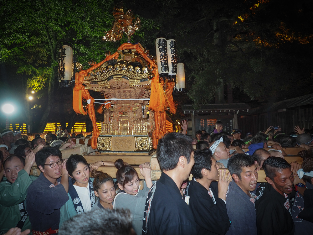 another mikoshi, portable shrine